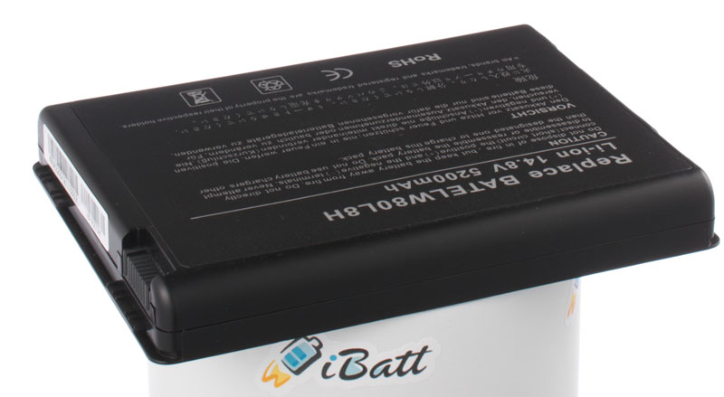 Аккумуляторная батарея iBatt iB-A273H для ноутбука AcerЕмкость (mAh): 5200. Напряжение (V): 14,8