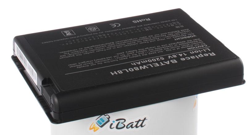 Аккумуляторная батарея для ноутбука Acer TravelMate 2202WLC. Артикул iB-A273H.Емкость (mAh): 5200. Напряжение (V): 14,8