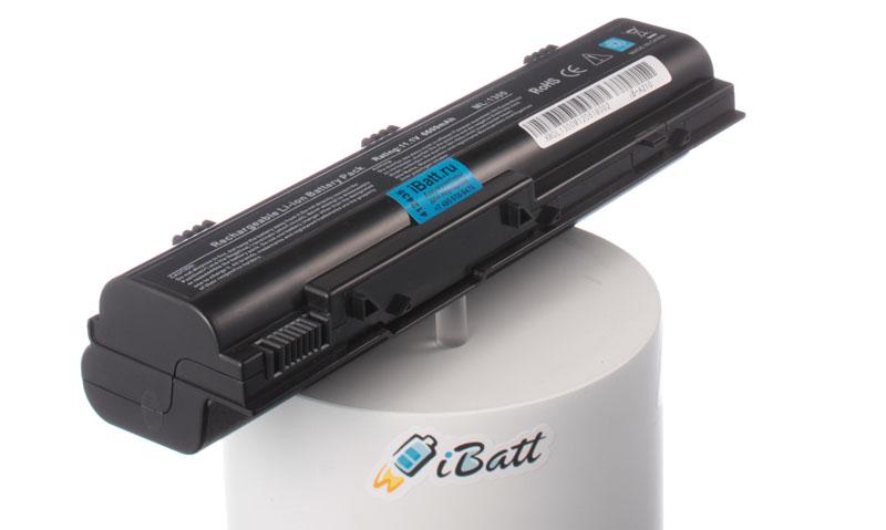Аккумуляторная батарея для ноутбука Dell Inspiron 1300. Артикул iB-A210.Емкость (mAh): 6600. Напряжение (V): 11,1