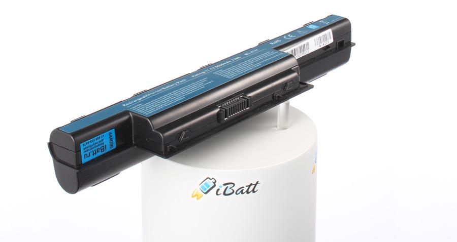 Аккумуляторная батарея AS10D61 для ноутбуков Packard Bell. Артикул iB-A225.Емкость (mAh): 6600. Напряжение (V): 11,1