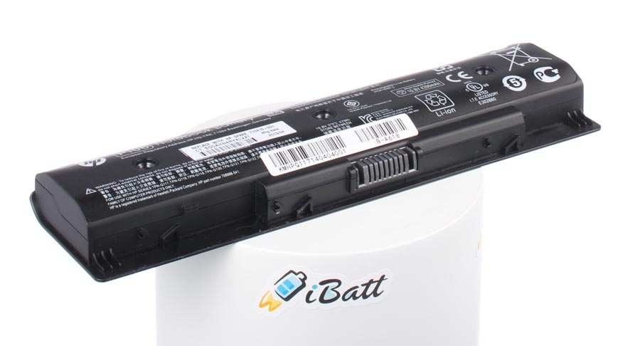 Аккумуляторная батарея 709988-541 для ноутбуков HP-Compaq. Артикул iB-A618.Емкость (mAh): 4400. Напряжение (V): 10,8