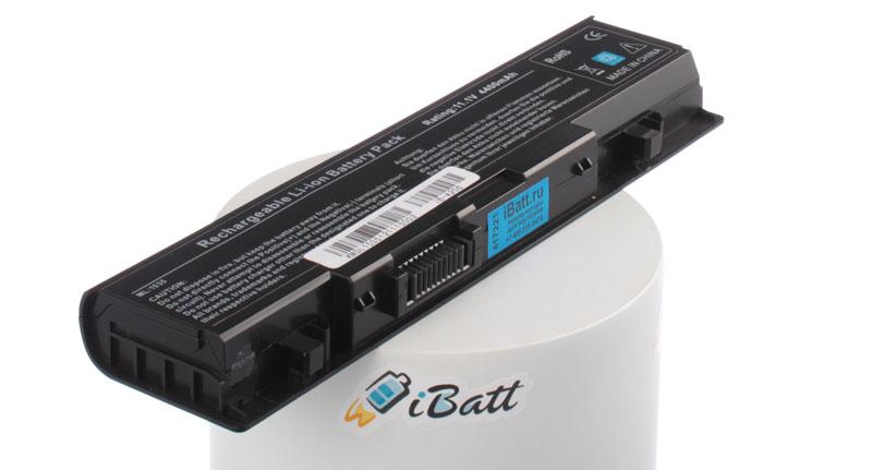 Аккумуляторная батарея для ноутбука Dell Studio 1558. Артикул iB-A206.Емкость (mAh): 4400. Напряжение (V): 11,1