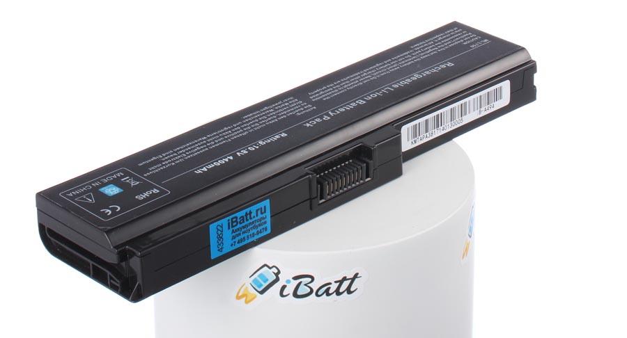 Аккумуляторная батарея PA3819U-1BAS для ноутбуков Toshiba. Артикул iB-A494.Емкость (mAh): 4400. Напряжение (V): 10,8