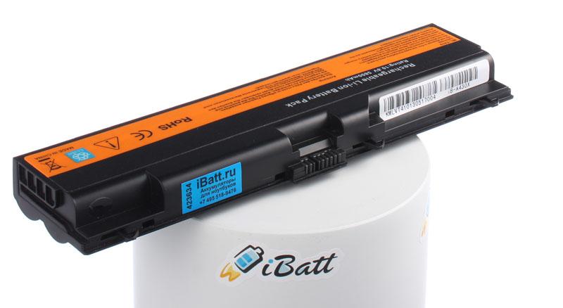 Аккумуляторная батарея iBatt iB-A430X для ноутбука IBM-LenovoЕмкость (mAh): 5800. Напряжение (V): 10,8