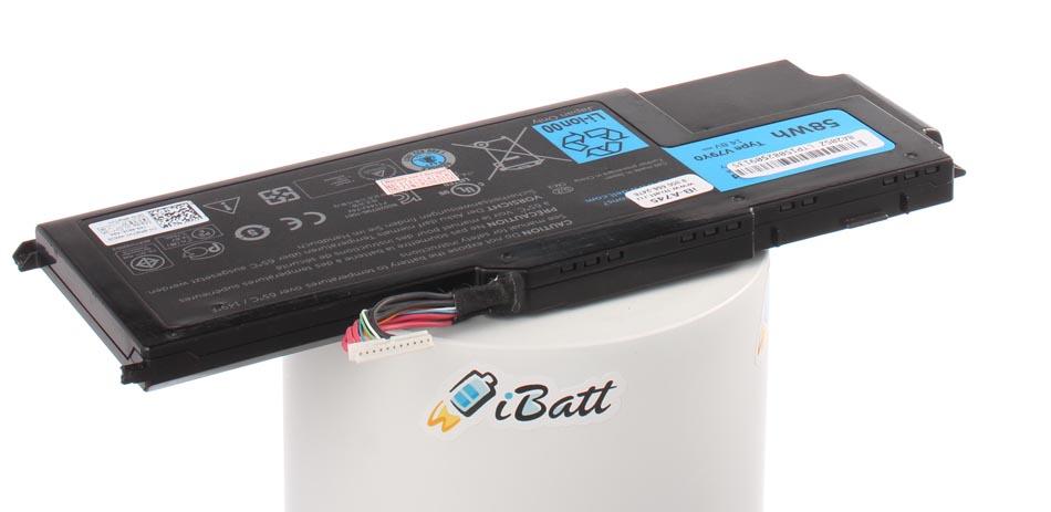 Аккумуляторная батарея iBatt iB-A745 для ноутбука DellЕмкость (mAh): 3900. Напряжение (V): 14,8