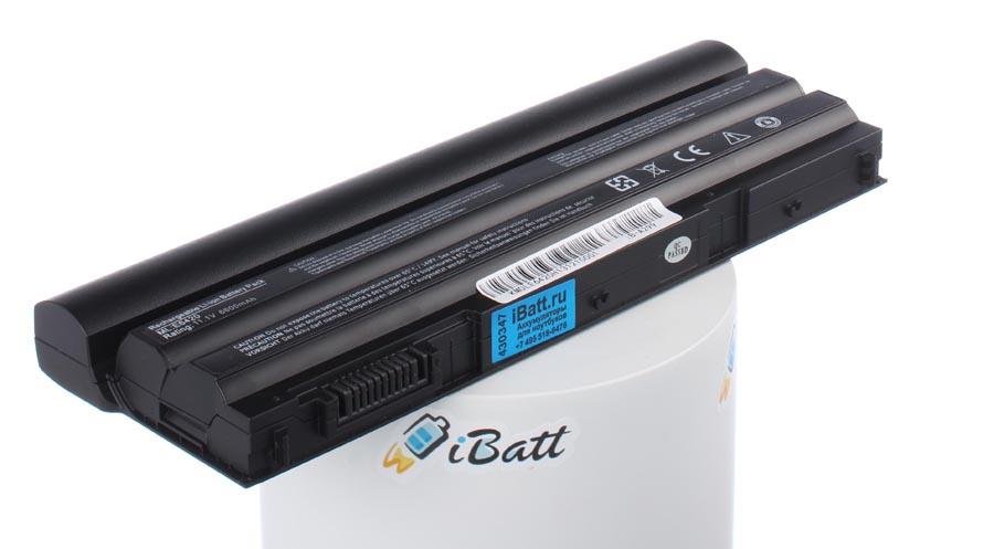 Аккумуляторная батарея iBatt iB-A299 для ноутбука DellЕмкость (mAh): 6600. Напряжение (V): 11,1