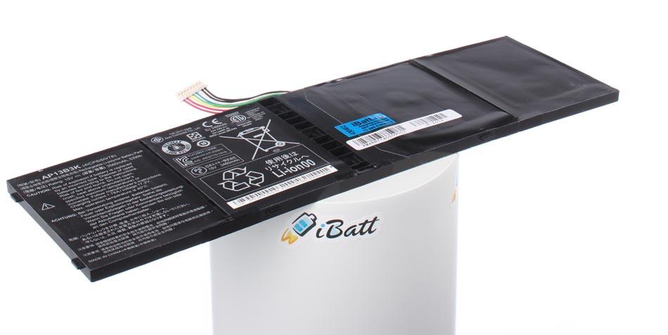 Аккумуляторная батарея AP13B8K для ноутбуков Acer. Артикул iB-A674.Емкость (mAh): 3500. Напряжение (V): 15,2