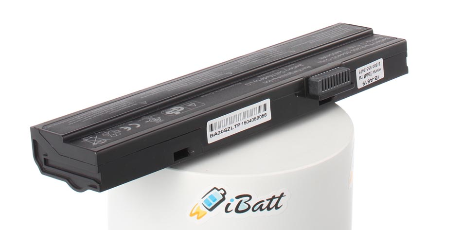 Аккумуляторная батарея 805N00017 для ноутбуков Uniwill. Артикул iB-A619.Емкость (mAh): 4400. Напряжение (V): 10,8