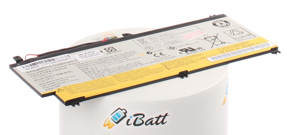 Аккумуляторная батарея 121500205 для ноутбуков IBM-Lenovo. Артикул iB-A955.Емкость (mAh): 4480. Напряжение (V): 3,7