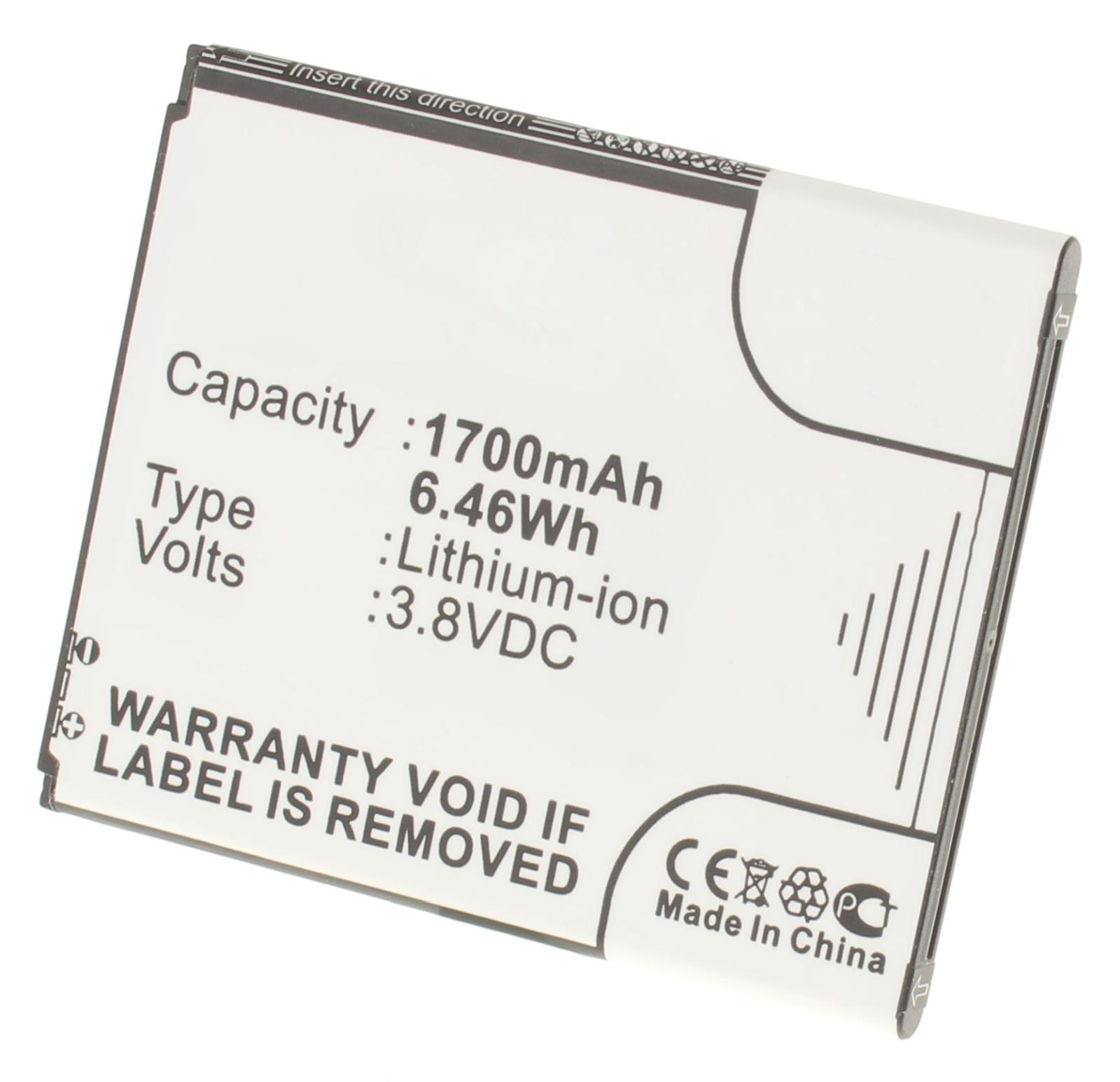Аккумуляторная батарея для телефона, смартфона Samsung Galaxy Duos. Артикул iB-M528.Емкость (mAh): 1700. Напряжение (V): 3,8