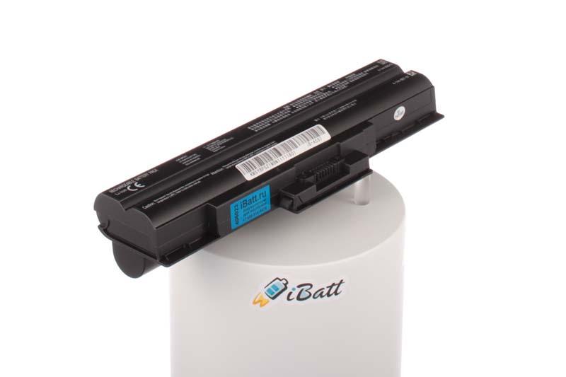 Аккумуляторная батарея iBatt iB-A597 для ноутбука SonyЕмкость (mAh): 6600. Напряжение (V): 11,1