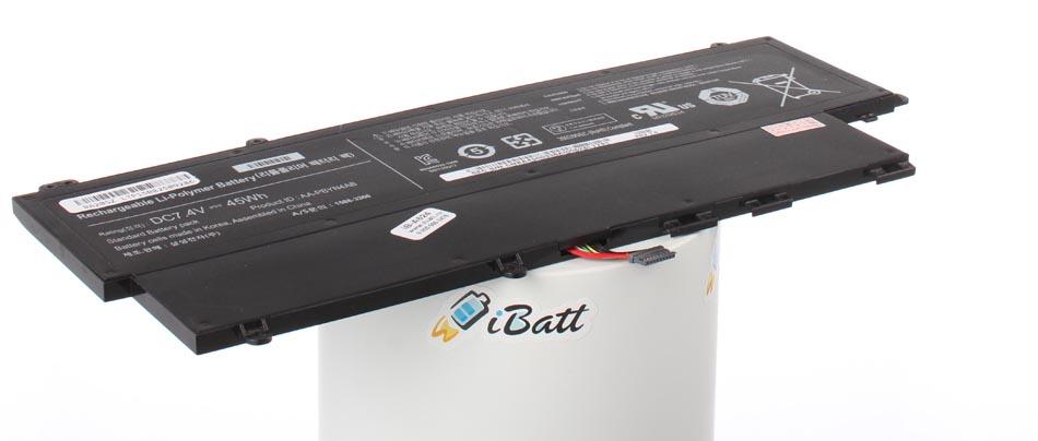 Аккумуляторная батарея для ноутбука Samsung 530U3C-A07. Артикул iB-A624.Емкость (mAh): 6000. Напряжение (V): 7,4
