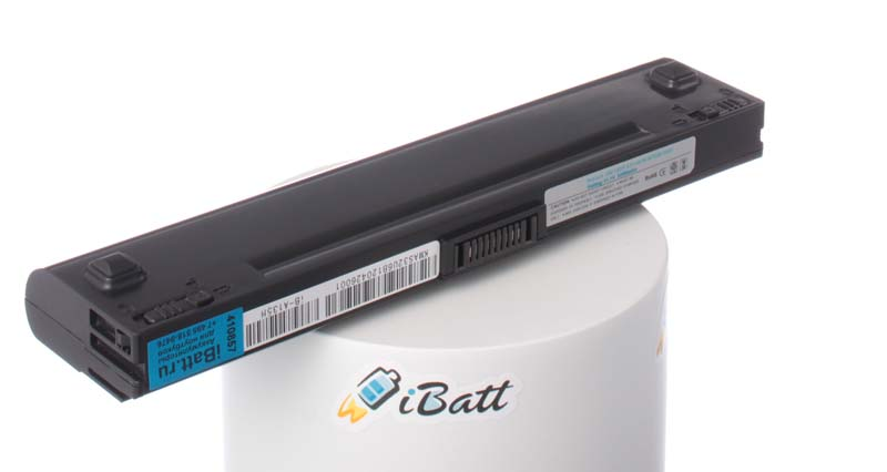 Аккумуляторная батарея для ноутбука Asus U6. Артикул iB-A135H.Емкость (mAh): 5200. Напряжение (V): 11,1
