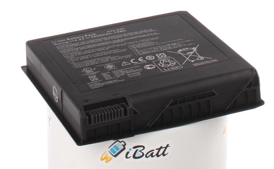 Аккумуляторная батарея A42-G55 для ноутбуков Asus. Артикул iB-A684H.Емкость (mAh): 5200. Напряжение (V): 14,4