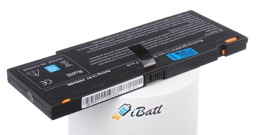 Аккумуляторная батарея HSTNN-XB1K для ноутбуков HP-Compaq. Артикул iB-A614.Емкость (mAh): 4000. Напряжение (V): 14,8