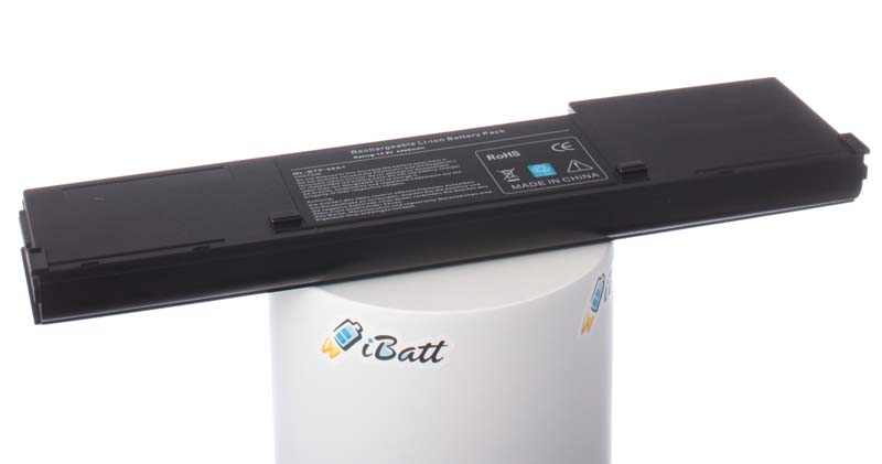 Аккумуляторная батарея для ноутбука Acer TravelMate 2602WLM. Артикул iB-A143.Емкость (mAh): 4400. Напряжение (V): 14,8