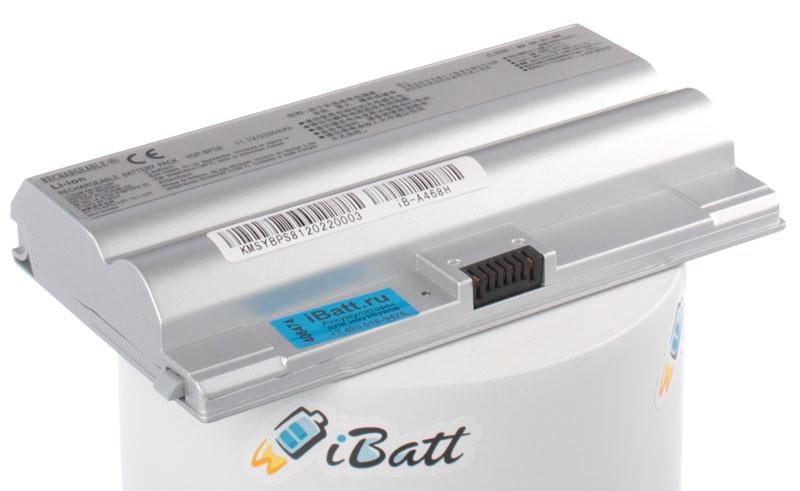 Аккумуляторная батарея VGP-BPL8 для ноутбуков Sony. Артикул iB-A468H.Емкость (mAh): 5200. Напряжение (V): 11,1