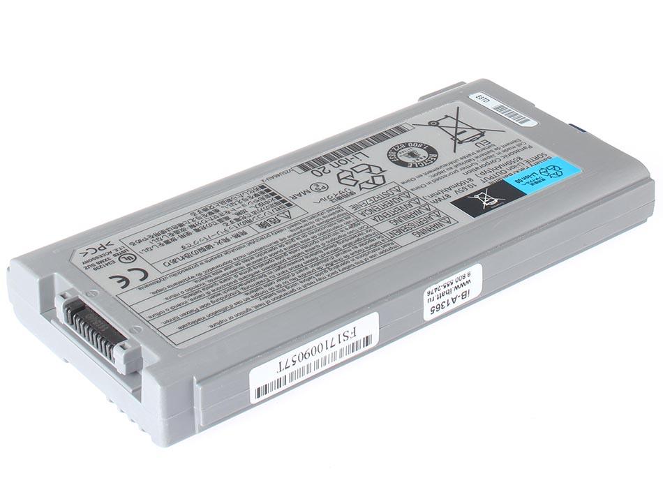 Аккумуляторная батарея CF-VZSU46S для ноутбуков Panasonic. Артикул iB-A1365.Емкость (mAh): 8400. Напряжение (V): 10,65