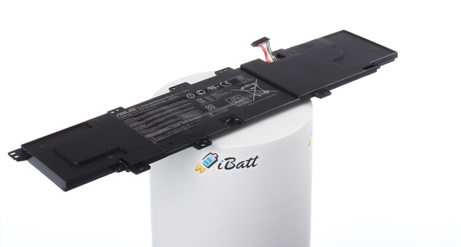 Аккумуляторная батарея iBatt iB-A662 для ноутбука AsusЕмкость (mAh): 4000. Напряжение (V): 11,1