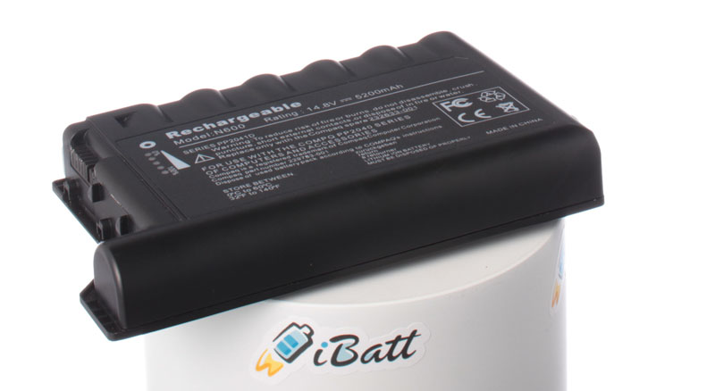 Аккумуляторная батарея для ноутбука HP-Compaq Evo N610v. Артикул iB-A196H.Емкость (mAh): 5200. Напряжение (V): 14,8