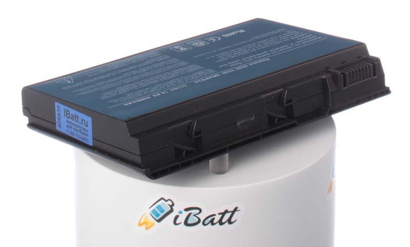 Аккумуляторная батарея для ноутбука Acer Extensa 5430-642G16Mi. Артикул iB-A134.Емкость (mAh): 4400. Напряжение (V): 14,8