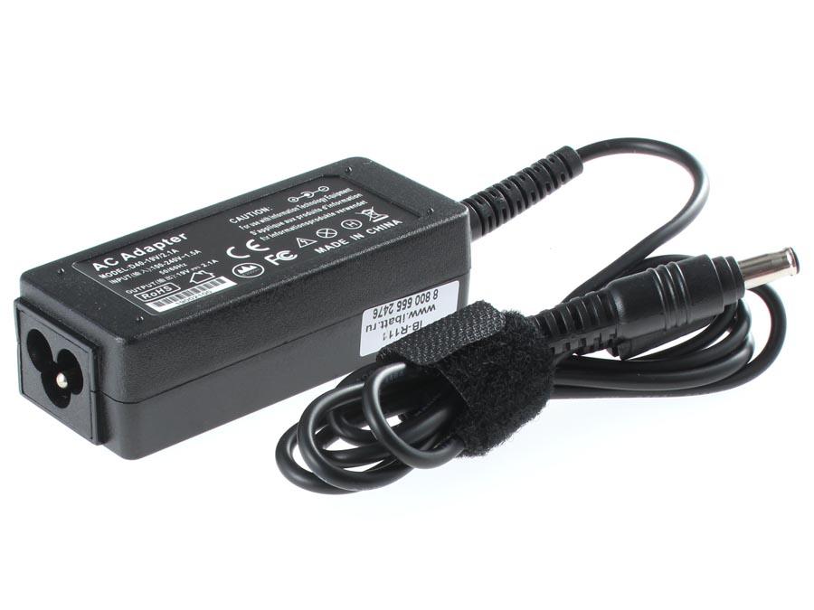 Блок питания (адаптер питания) ADP-40NH/AB для ноутбука Samsung. Артикул iB-R111. Напряжение (V): 19