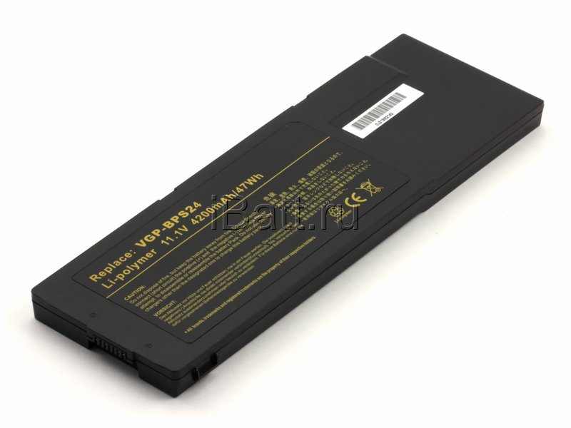 Аккумуляторная батарея iBatt 11-1587 для ноутбука SonyЕмкость (mAh): 4200. Напряжение (V): 11,1