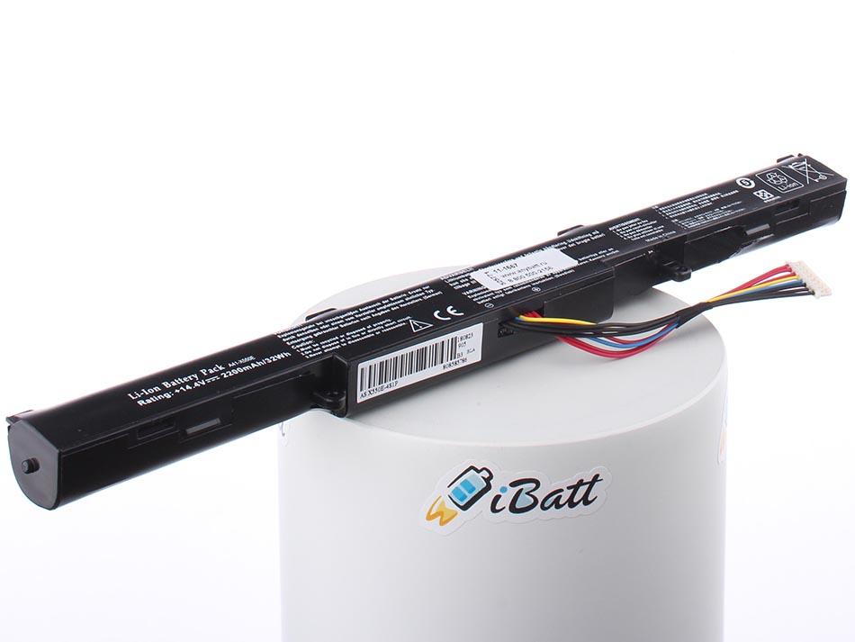 Аккумуляторная батарея для ноутбука Asus K750JB-TY012H 90NB01X1M00450. Артикул 11-1667.Емкость (mAh): 2200. Напряжение (V): 14,4