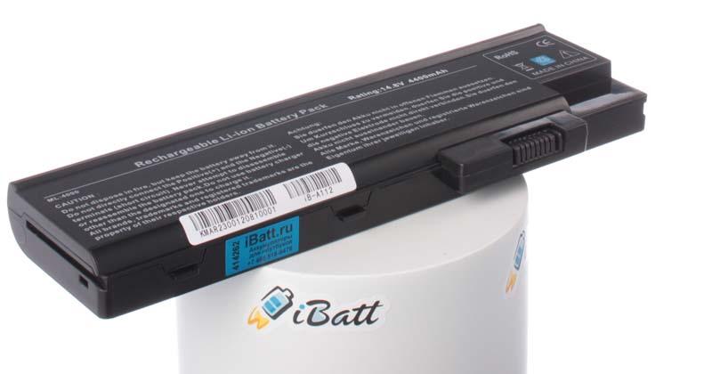 Аккумуляторная батарея для ноутбука Acer Extensa 3002LMi. Артикул iB-A112.Емкость (mAh): 4400. Напряжение (V): 14,8