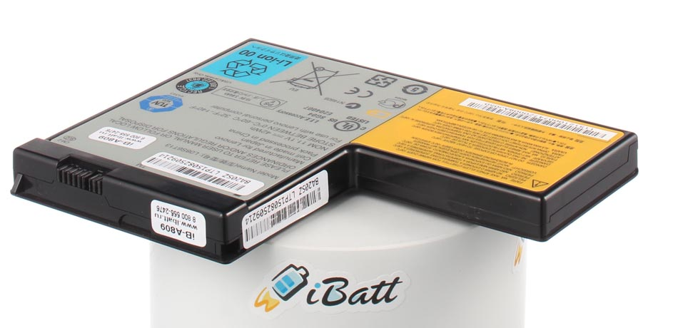 Аккумуляторная батарея iBatt iB-A809 для ноутбука IBM-LenovoЕмкость (mAh): 3800. Напряжение (V): 11,1