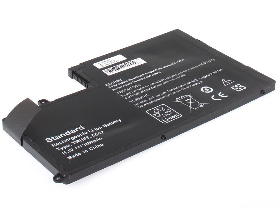 Аккумуляторная батарея 1V2F6 для ноутбуков Dell. Артикул iB-A1169.Емкость (mAh): 3800. Напряжение (V): 11,1