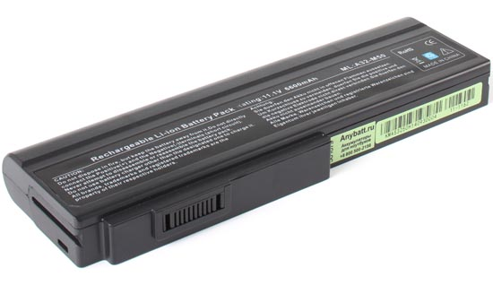 Аккумуляторная батарея A32-M50 для ноутбуков Asus. Артикул 11-1162.Емкость (mAh): 6600. Напряжение (V): 11,1