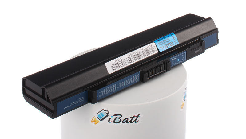 Аккумуляторная батарея для ноутбука Acer Aspire One Pro 531h. Артикул iB-A482.Емкость (mAh): 4400. Напряжение (V): 11,1