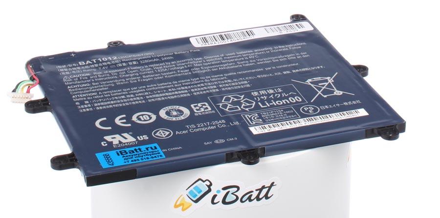 Аккумуляторная батарея BAT-1012 для ноутбуков Acer. Артикул iB-A639.Емкость (mAh): 3250. Напряжение (V): 7,4