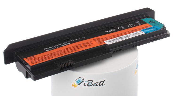 Аккумуляторная батарея iBatt iB-A351H для ноутбука IBM-LenovoЕмкость (mAh): 7800. Напряжение (V): 10,8