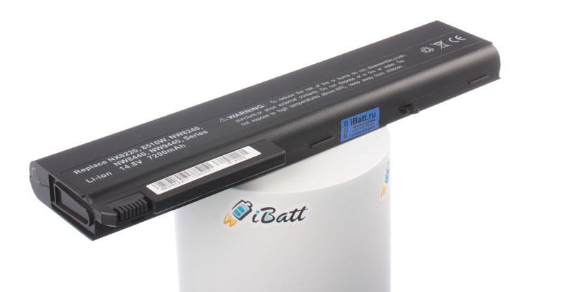 Аккумуляторная батарея для ноутбука HP-Compaq nw8240. Артикул iB-A329.Емкость (mAh): 6600. Напряжение (V): 14,8