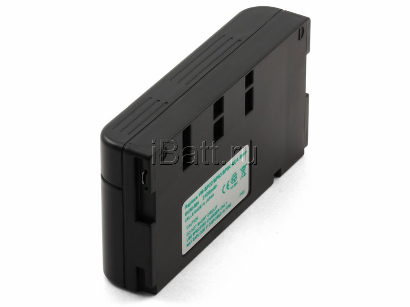 Аккумуляторная батарея iBatt для фотокамеры Hitachi VM-E228E. Артикул iB-F362, Hitachi