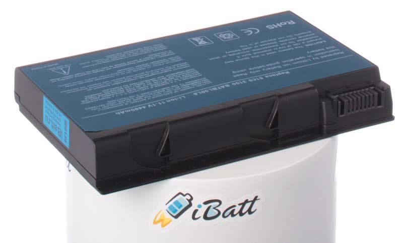 Аккумуляторная батарея для ноутбука Acer Aspire 5632WLMi. Артикул iB-A118.Емкость (mAh): 4400. Напряжение (V): 11,1