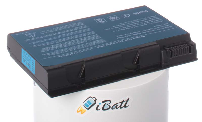 Аккумуляторная батарея для ноутбука Acer TravelMate 5514. Артикул iB-A118.Емкость (mAh): 4400. Напряжение (V): 11,1
