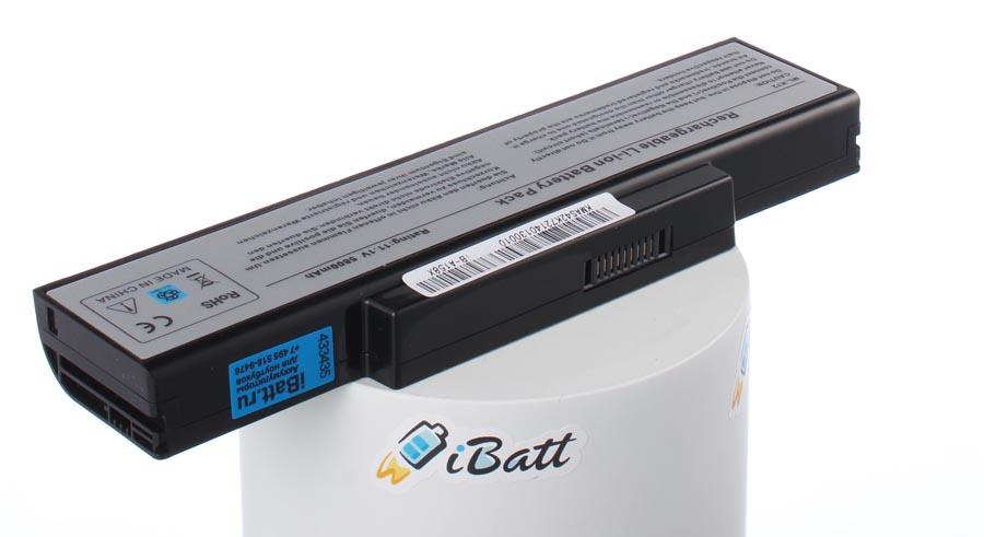 Аккумуляторная батарея CS-AUK72NB для ноутбуков Asus. Артикул iB-A158X.Емкость (mAh): 5800. Напряжение (V): 11,1