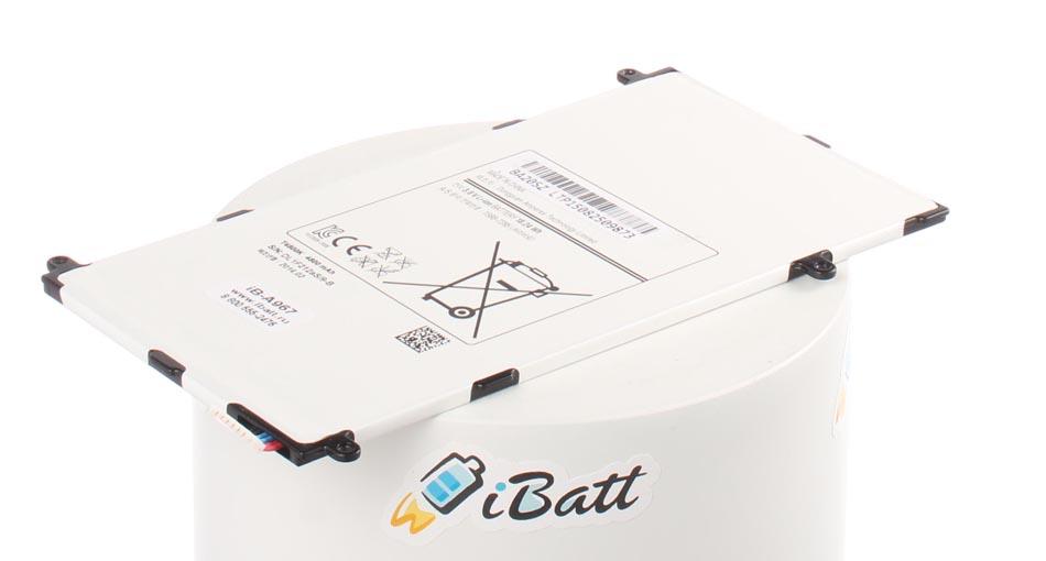 Аккумуляторная батарея T4800E для ноутбуков Samsung. Артикул iB-A967.Емкость (mAh): 4800. Напряжение (V): 3,7