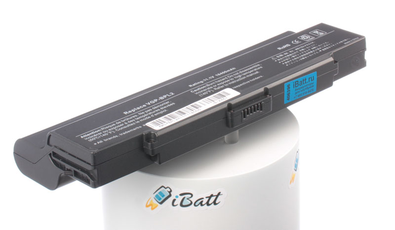 Аккумуляторная батарея VGP-BPS2 для ноутбуков Sony. Артикул iB-A467.Емкость (mAh): 8800. Напряжение (V): 11,1