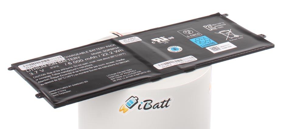 Аккумуляторная батарея SGPBP03 для ноутбуков Sony. Артикул iB-A864.Емкость (mAh): 6000. Напряжение (V): 3,7