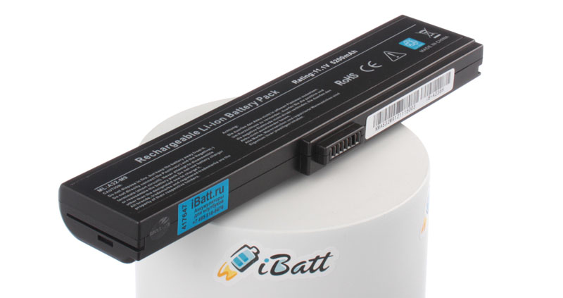 Аккумуляторная батарея CL2800A.806 для ноутбуков Asus. Артикул iB-A236H.Емкость (mAh): 5200. Напряжение (V): 11,1