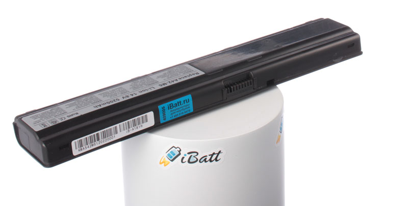 Аккумуляторная батарея для ноутбука Asus M67Va. Артикул iB-A181H.Емкость (mAh): 5200. Напряжение (V): 14,8