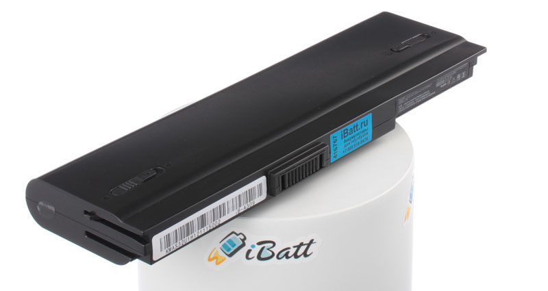 Аккумуляторная батарея для ноутбука Asus U1E. Артикул iB-A309.Емкость (mAh): 6600. Напряжение (V): 11,1