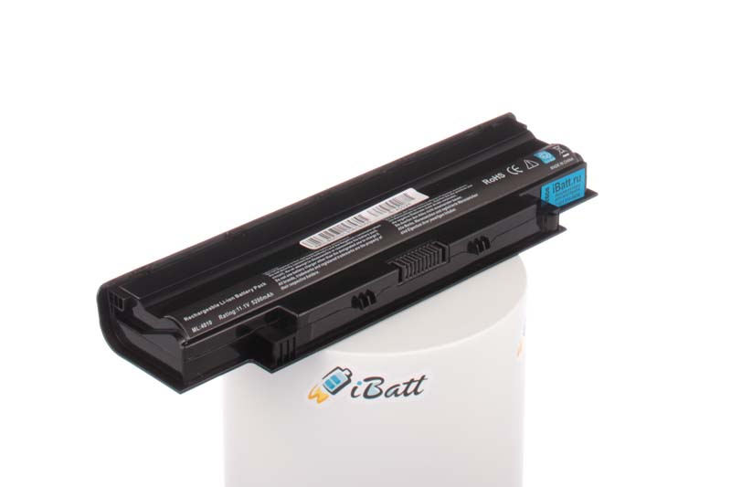 Аккумуляторная батарея J1KND для ноутбуков Dell. Артикул iB-A502H.Емкость (mAh): 5200. Напряжение (V): 11,1