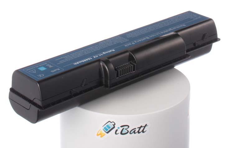 Аккумуляторная батарея iBatt iB-A128H для ноутбука eMachinesЕмкость (mAh): 10400. Напряжение (V): 11,1