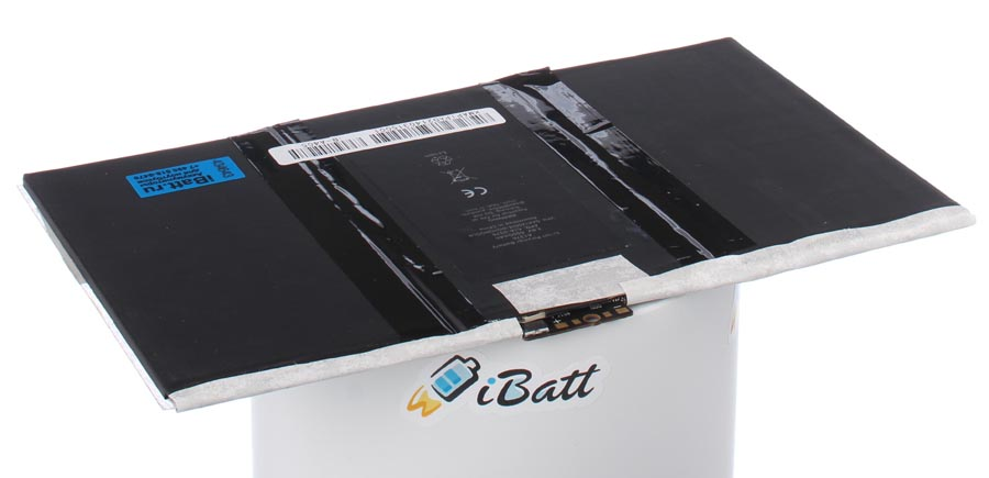 Аккумуляторная батарея для ноутбука Apple iPad 2 16Gb Wi-Fi. Артикул iB-A405.Емкость (mAh): 6500. Напряжение (V): 3,8