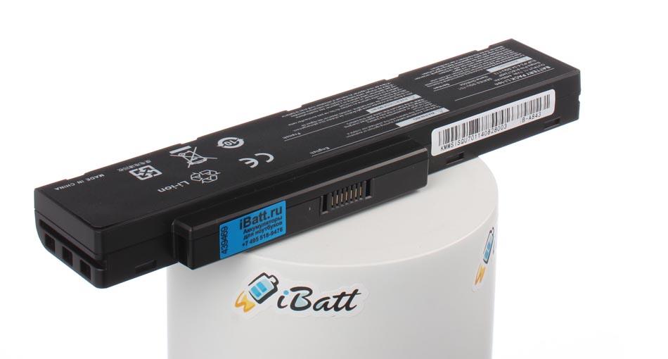 Аккумуляторная батарея для ноутбука Packard Bell EasyNote MB88-P. Артикул iB-A843.Емкость (mAh): 4400. Напряжение (V): 11,1
